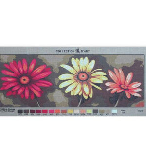 Modern Floral 1 Tapestry by Collection d'Art (9.001)
