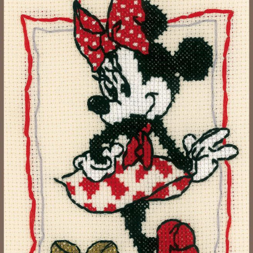 Disney It's about Minnie Cross Stitch kit by Vervaco PN-0167301