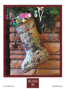Lula's Stocking By Shepherd's Bush - Chart and Charm Pack