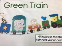 Train Kit By Windflower Embroidery