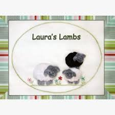 Laura's Lambs By Windflower Embroidery