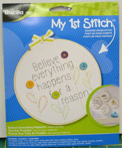 "My First Stitch 6"" Hoop Kit"