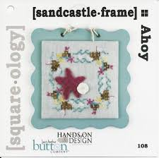 Ahoy-Sandcastle Frame Square-Ology Charts