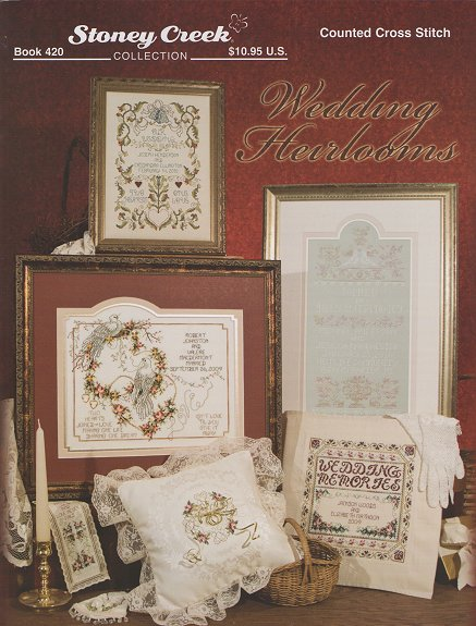Stoney Creek Wedding Heirlooms Cross Stitch Books