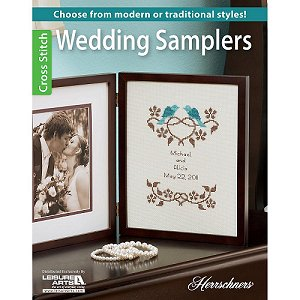 Wedding Samplers Cross Stitch Book by Leisure Arts