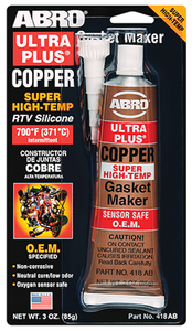 Abro Ultra Plus® Copper RTV Silicone Gasket Maker
