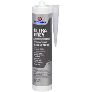 Permatex Ultra Grey Rigid High-Torque RTV Silicone Gasket Maker