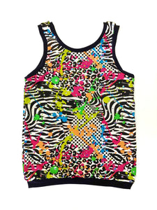 Neon Splash Tank Top