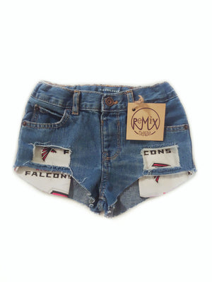 Custom Team Distressed Hilo Shorties