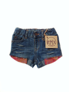 Amber Dreams Hilo Distressed Shorties