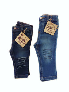 Shredded Skinny Jeans, Sizes 0-3 Months to 9-12 Months