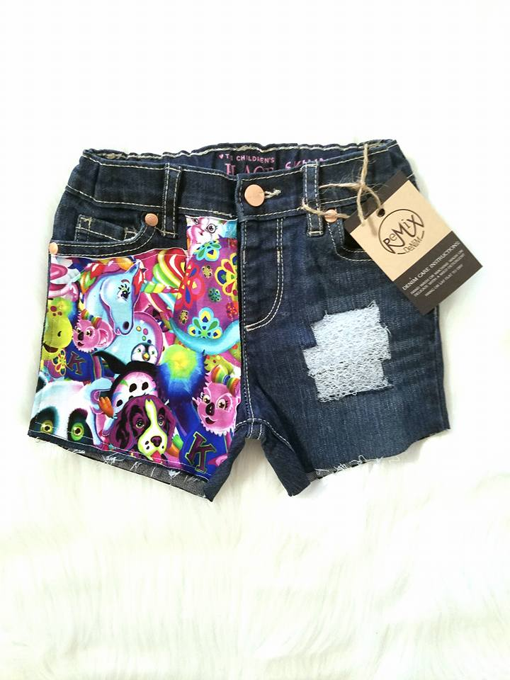 Lisa Frank Character Shorties