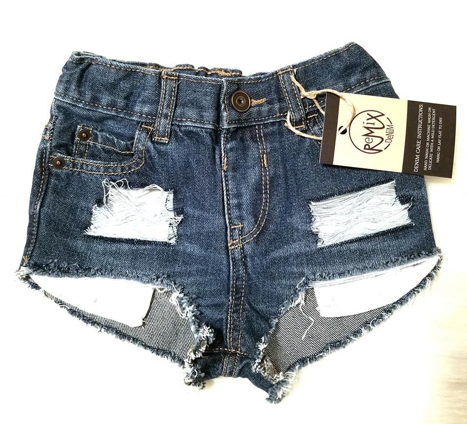 Hilo Distressed Shorties