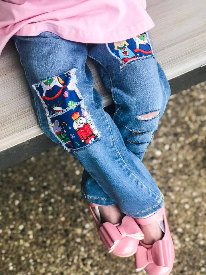 The Nutcracker Distressed Girls Jeans