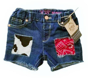 Cowgirl Distressed Shorties
