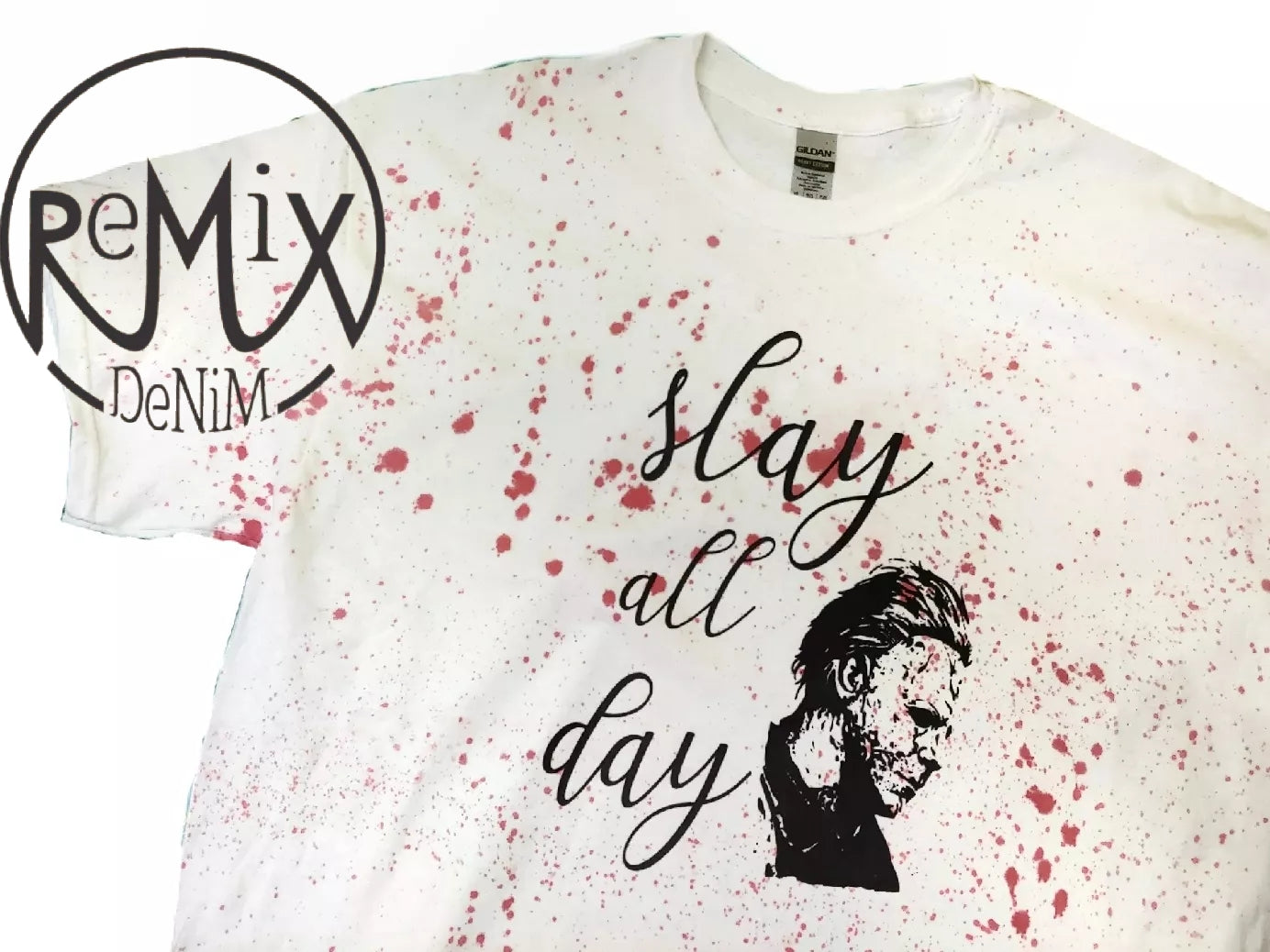 Slay All Day Splatter Tshirt