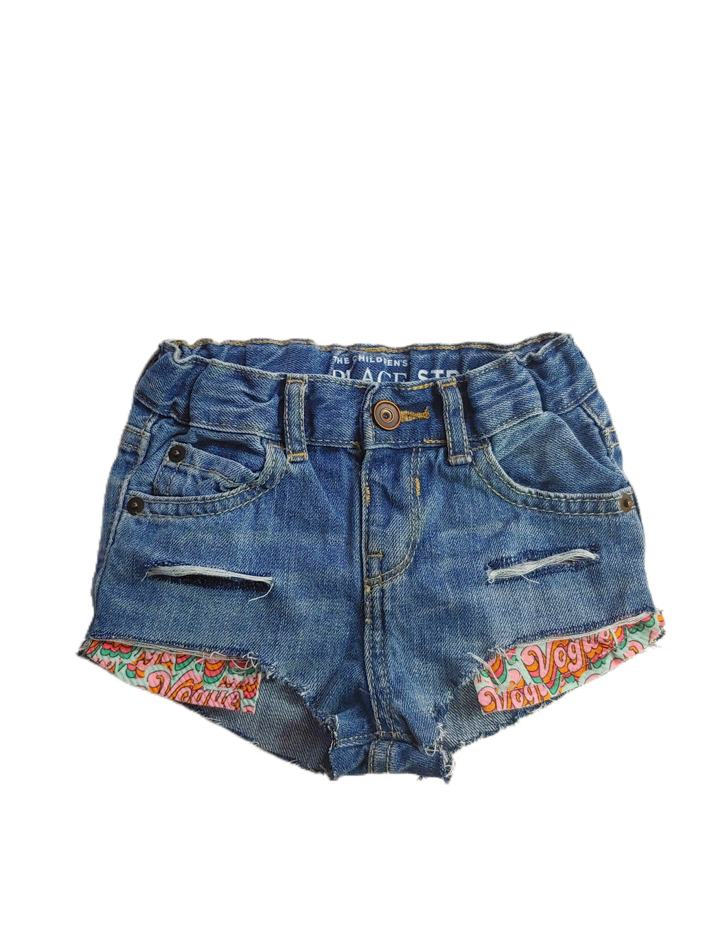 Vogue Distressed Hilo Shorties
