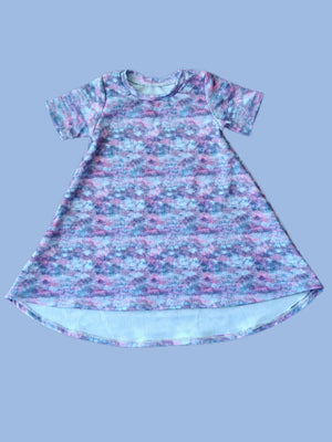 Mystery Print Tshirt Dress