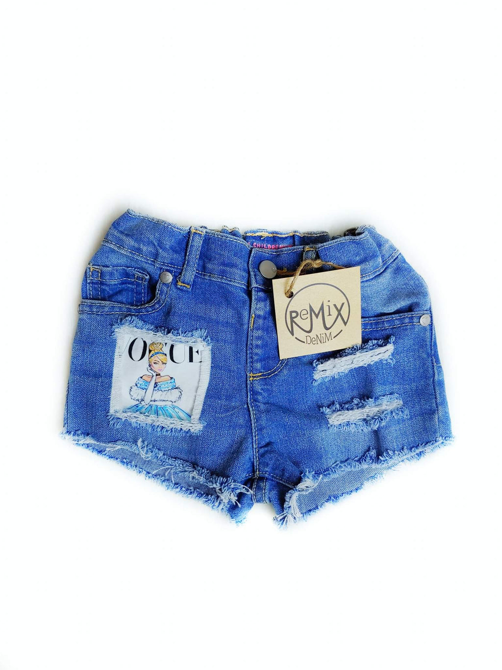 Vogue Princess Distressed Shorties
