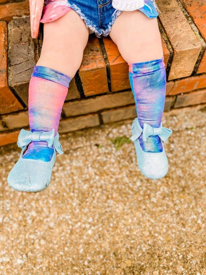 Cotton Candy Dreams Knee High Socks