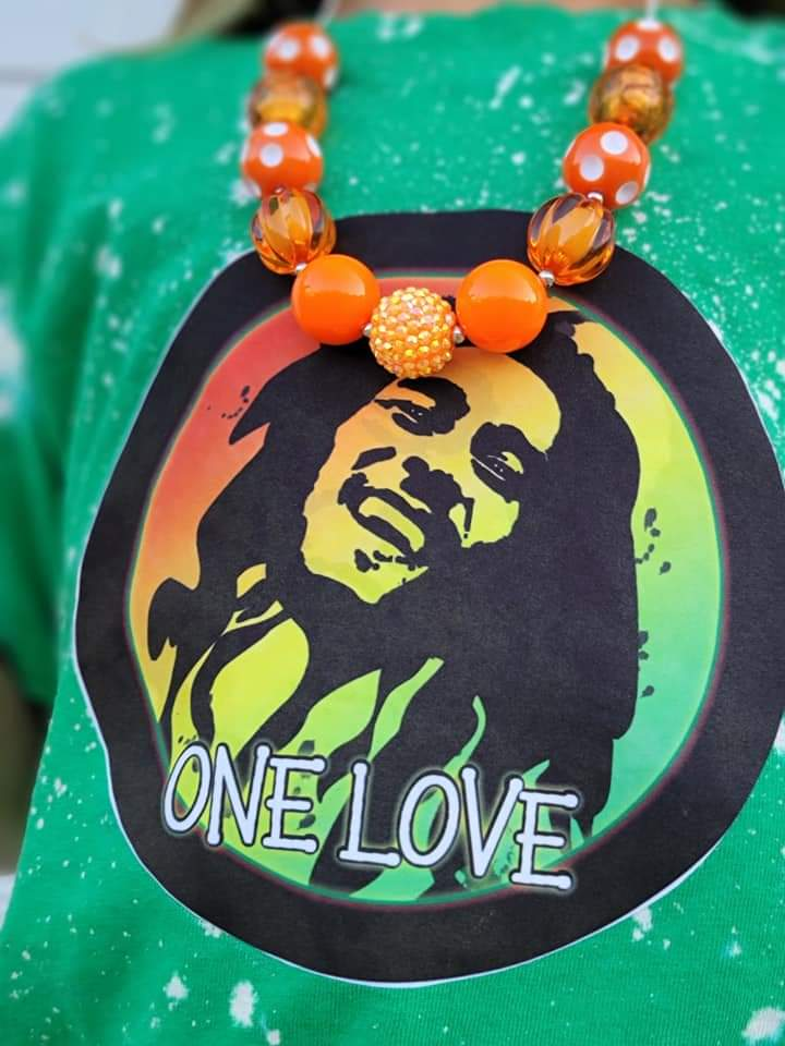 One Love Marley Tshirt (Baby to Adult Sizes)