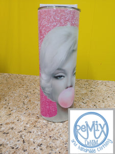 Well Behaved Women Marilyn 20oz Skinny Tumbler