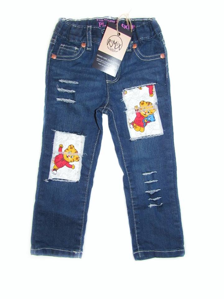 Daniel Tiger Distressed Boys Jeans