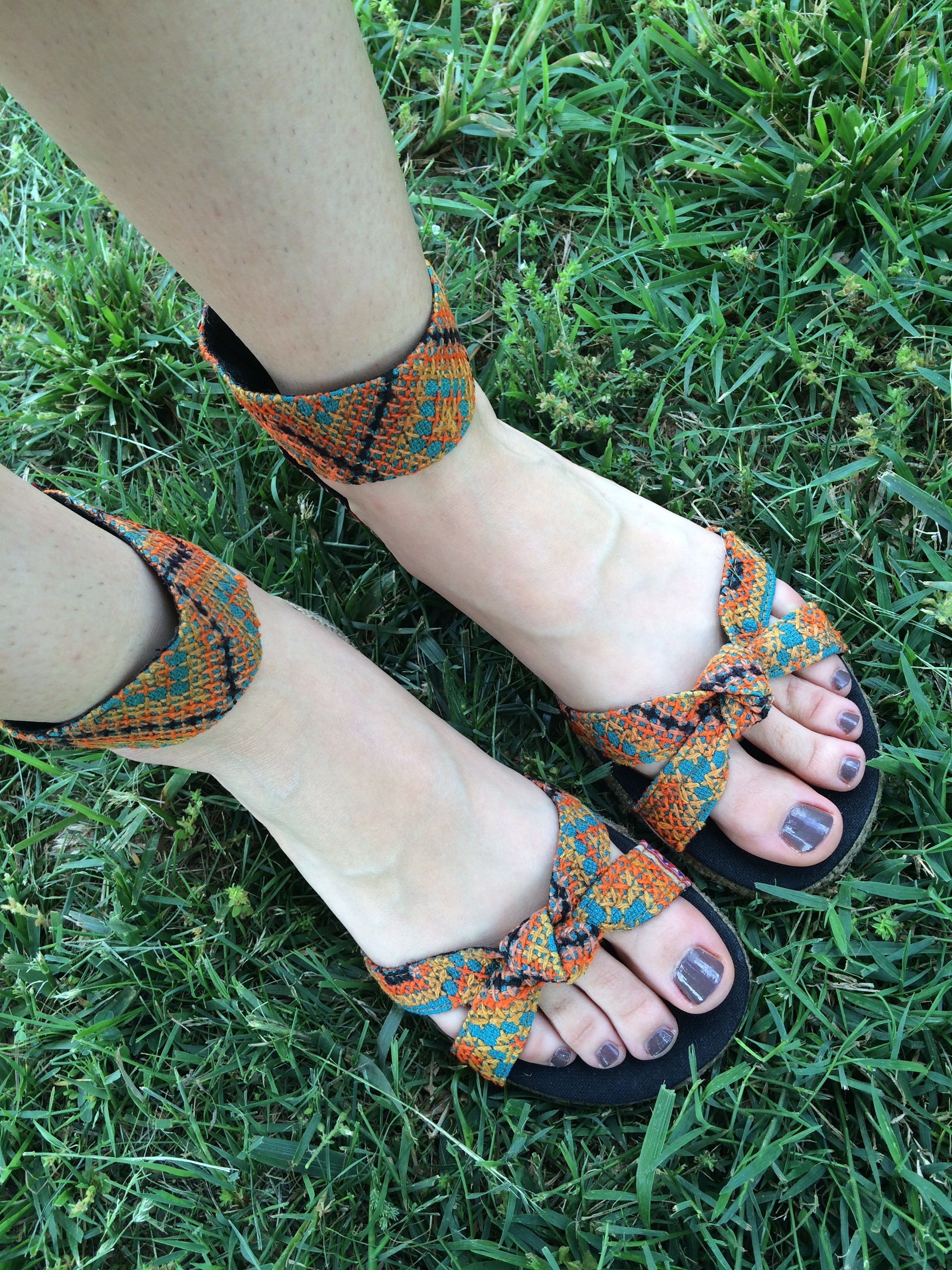 Hmong Hilltribe Gladiator Sandals