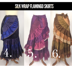 Silk Wrap Flamenco Skirt
