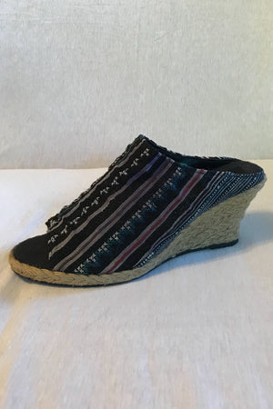 Hilltribe Slip On Wedge