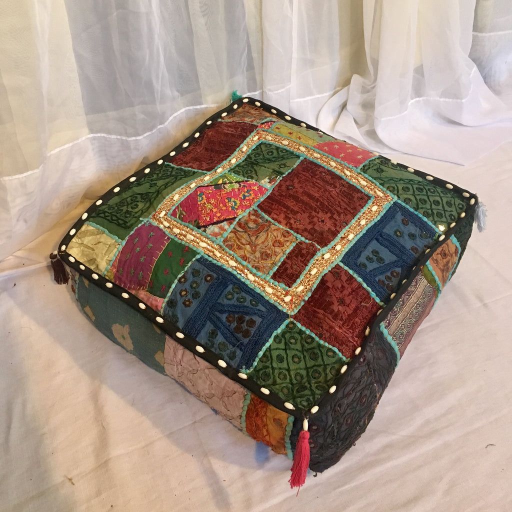 Patchwork Mediation Cushion