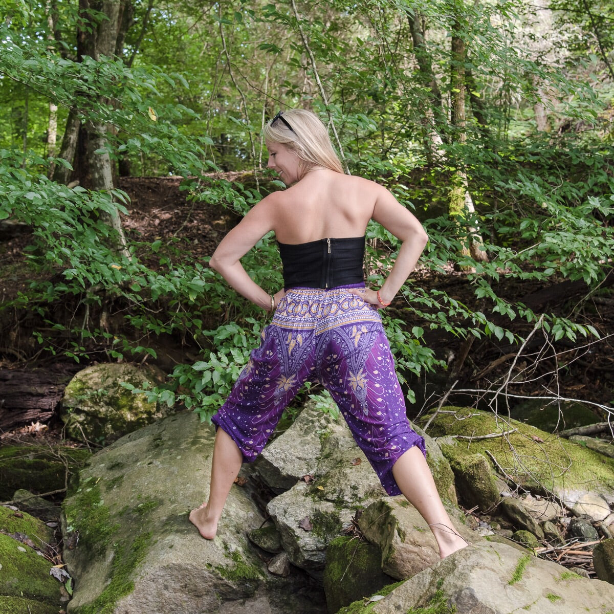 Mandala Drawstring Pants