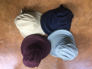 Available in 4 Colors: Gray, Plum, Navy, Off White