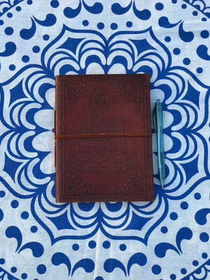6x8 Camel Leather Journal