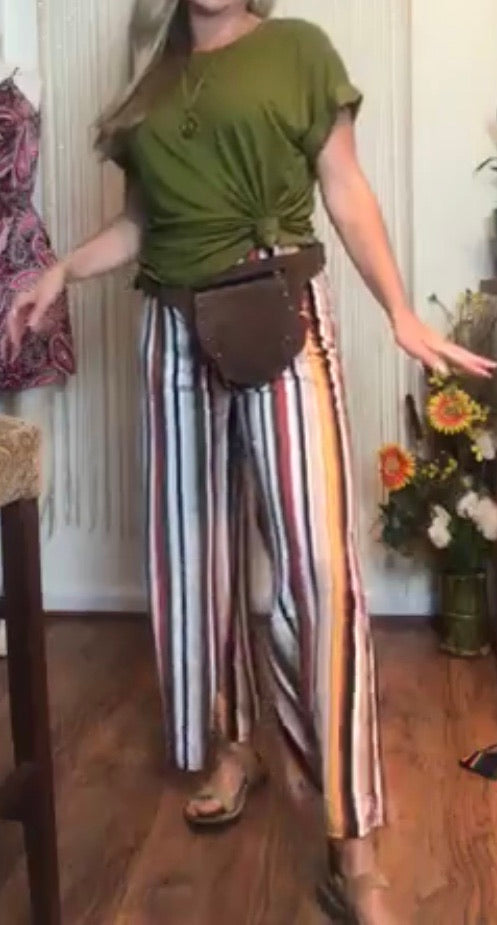 Striped 70s Pants