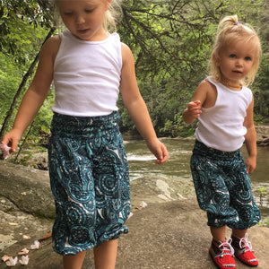 Paisley Harem Kid Pants