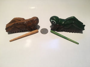 Wooden Percussion Grasshopper