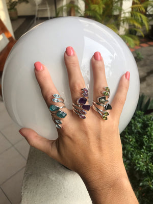 Gemstone Wrap Ring