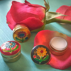 Natural Solid Perfume Travel Tin