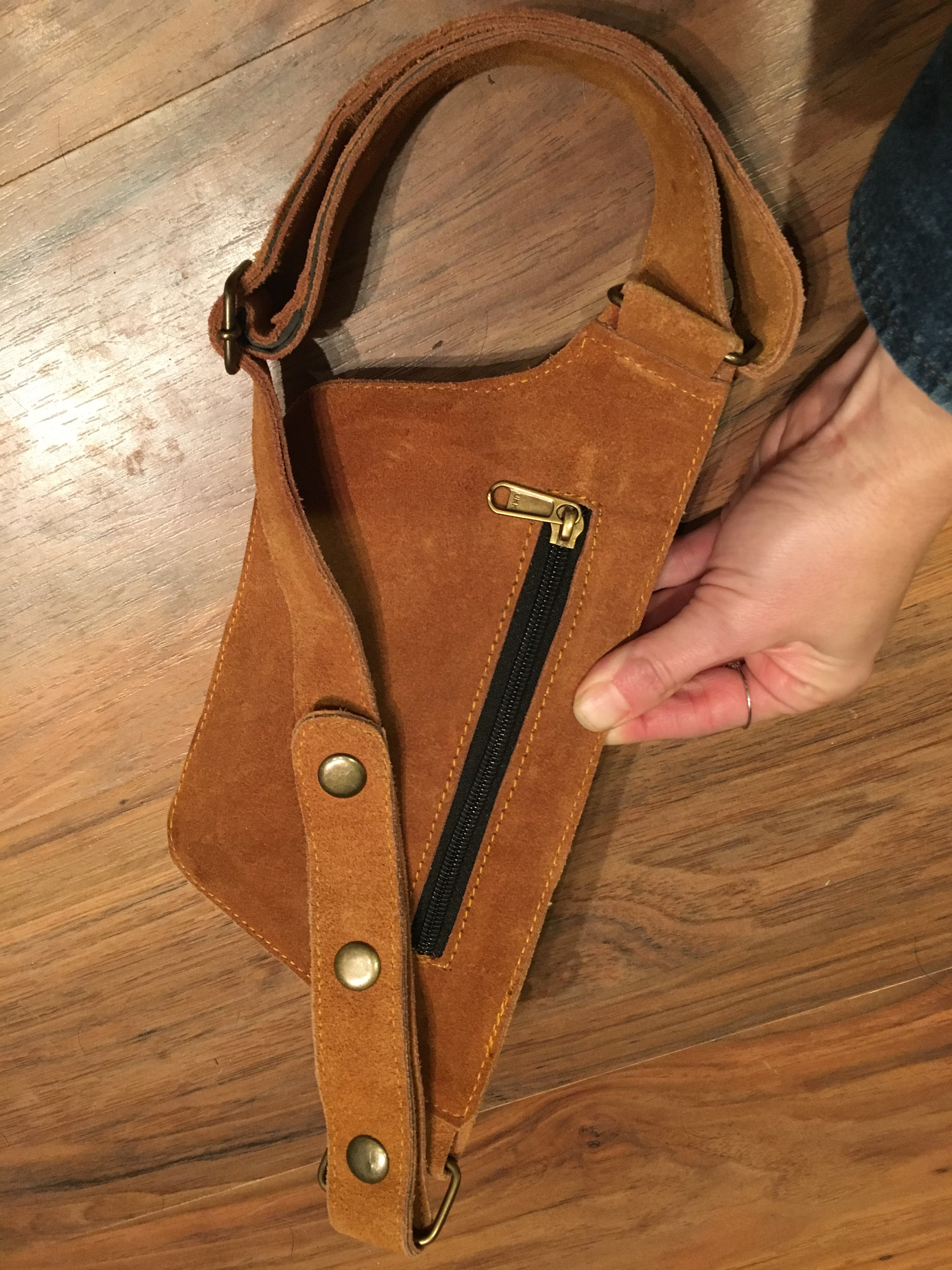 Small Suede Hip Belt