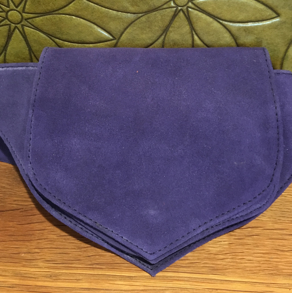 Large Suede Hip Belt