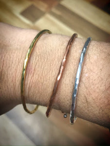 Set of 3 adjustable bangles