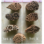 Set of four 1.5 inch stamps
