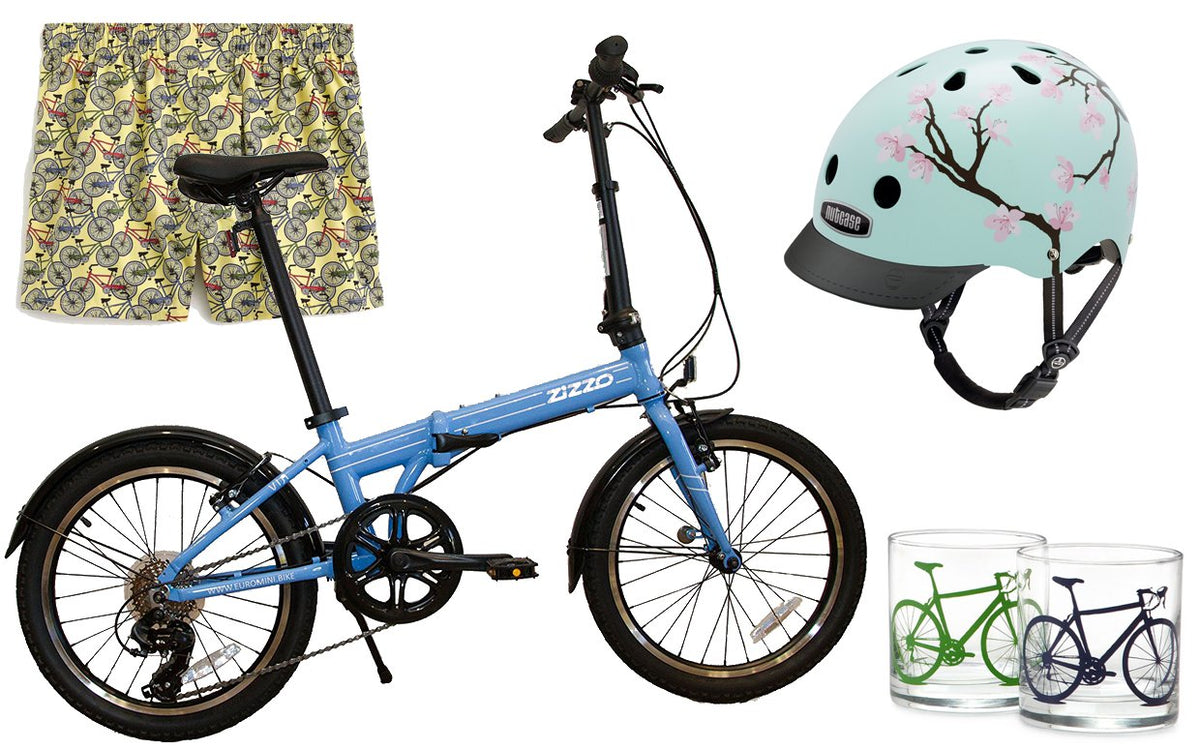 Featuring ZiZZO Sky Blue VIA at Parade.com National Cycling day's pick!