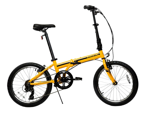 "ZiZZO Campo 20"" 7-speed Alloy Folding Bike - ZiZZO Folding bike"