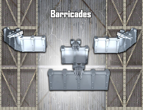 Defense barricades
