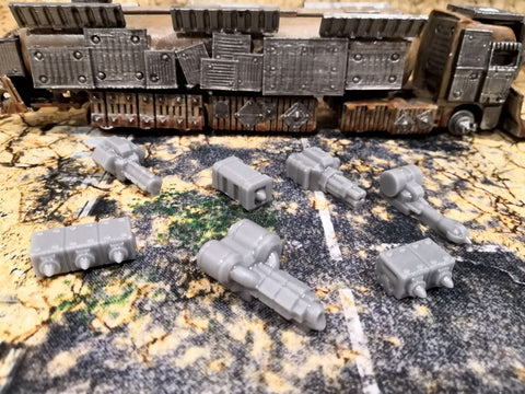 Gaslands War-Rig Weapon Pack #1 Resin