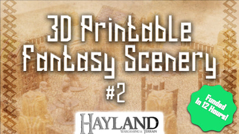 3D Printable 28mm Fantasy Scenery #2 - Late Pledge