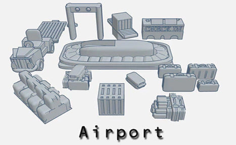 28mm Airport Set