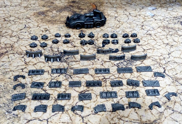 Gaslands Resin Armour, Ram and Engine Pack! #2